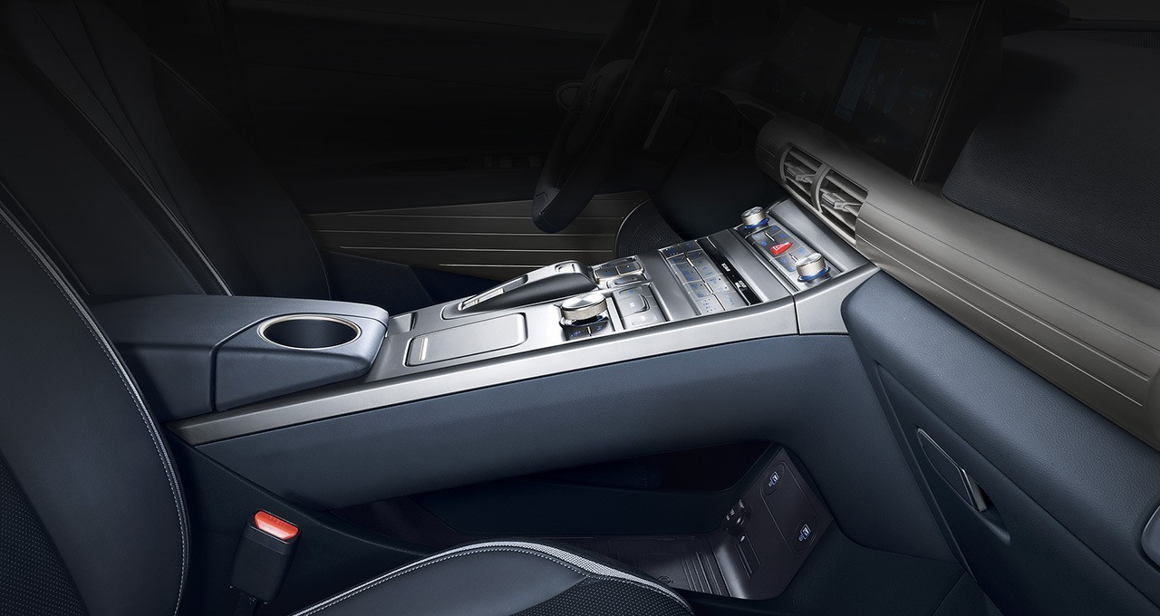 Reimagined centre console storage
