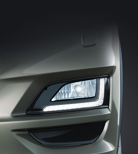 LED Daytime Running Lights and fog lamps